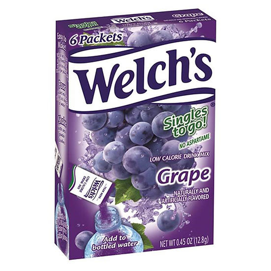 Welch's Singles to go! Grape