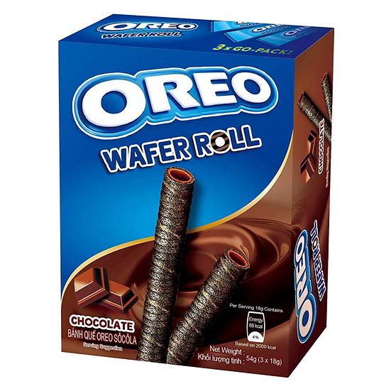 Oreo Chocolate Wafer Rolls
