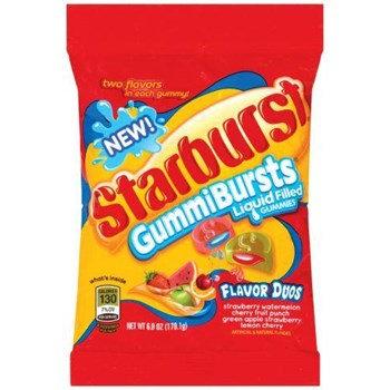 Starburst Gummi Bursts Duo's