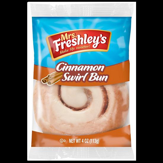 Mrs Freshley's Cinnamon Swirl Bun