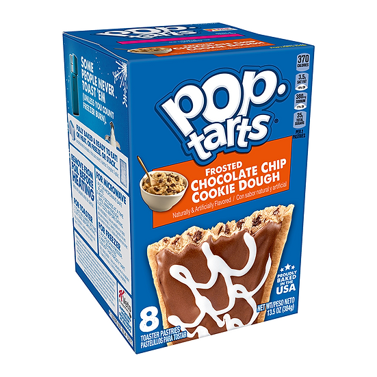 Pop Tarts - Frosted Chocolate Chip Cookie Dough - 8 Pack
