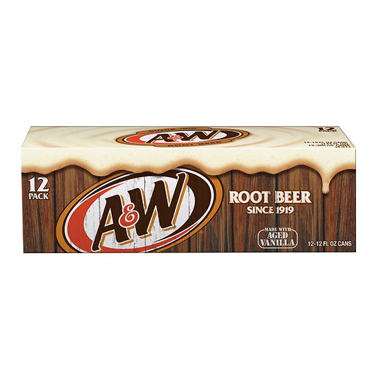 A&W Root Beer - 12-Pack