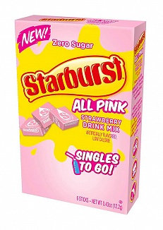 Starburst Singles To Go All Pink
