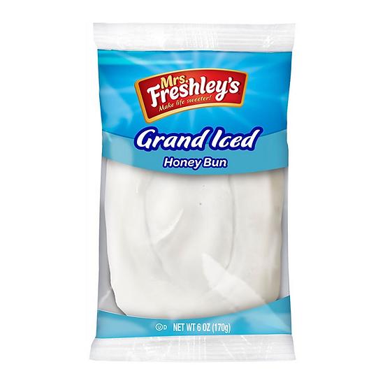 Mrs Freshley's Grand Iced Honey Bun (box of 6)