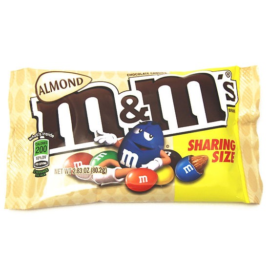 M&M Almond