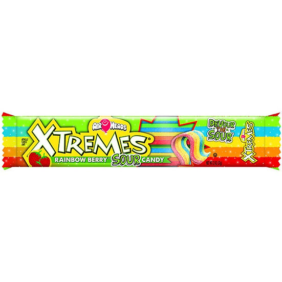 Airheads - Xtreme Rainbow Berry Sour Belts