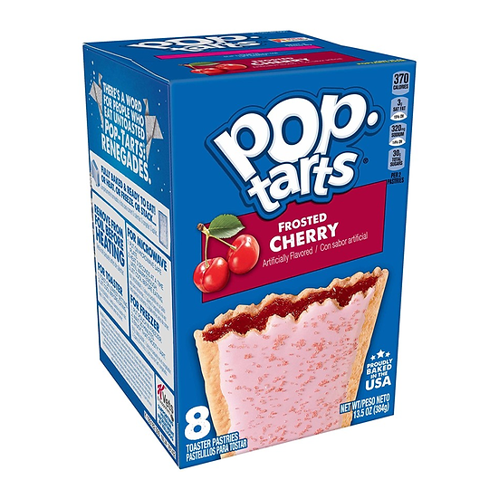 Pop Tarts Frosted Cherry 8-Pack