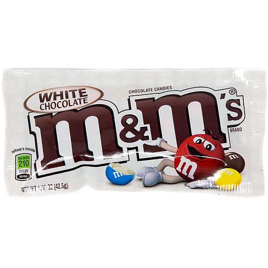 M&M White Chocolate