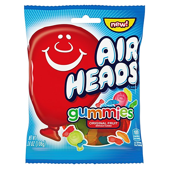 Airheads Gummies Peg Bag