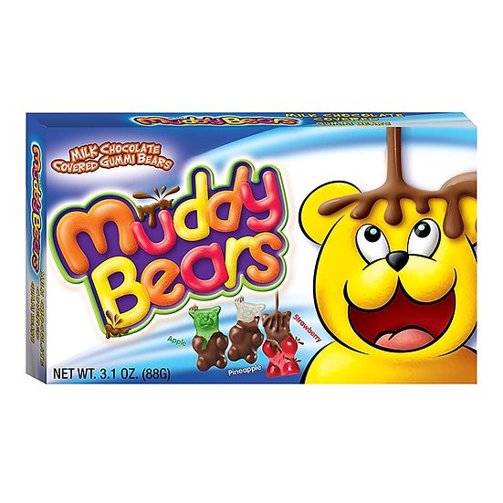Muddy Bears Milk Chocolate Covered Gummi Bears