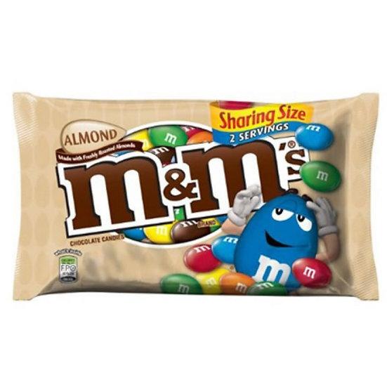 M&M Almond Sharing size