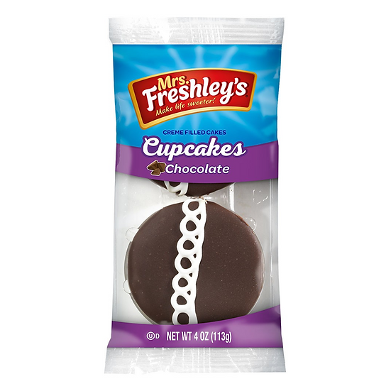 Mrs Freshley's Chocolate Cupcakes Twin Pack