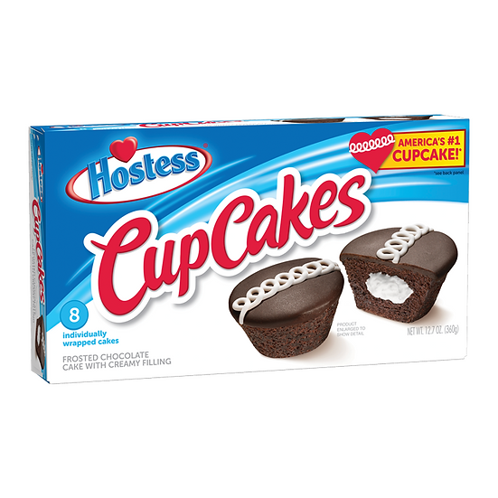 Hostess Frosted Chocolate Cup Cakes