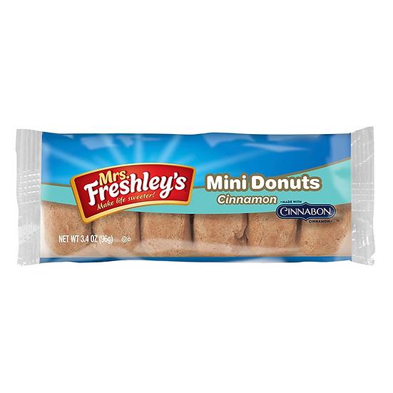 Mrs Freshley's Cinnamon Cinnamon Mini Donuts
