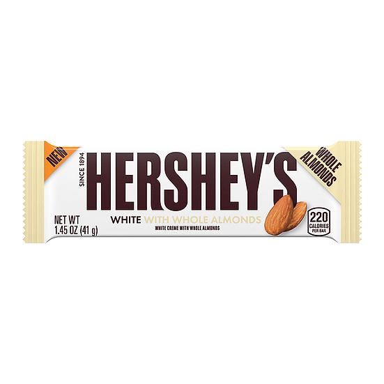 Hershey's White Crème w/ Whole Almonds Bar