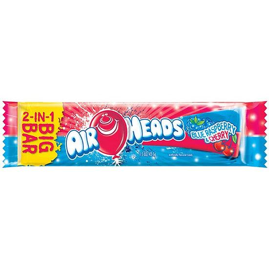 Airheads BIG BAR Blue Raspberry and Cherry