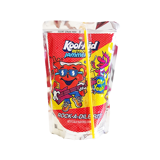 Kool Aid Retro Jammers Rock-A-Dile Red