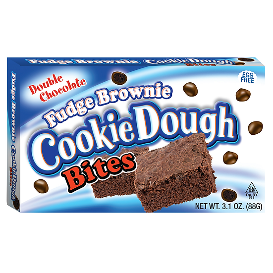 Cookie Dough Bites Fudge Brownie