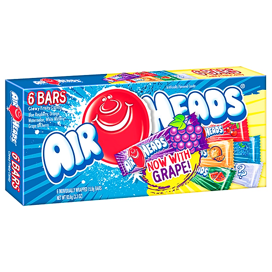 Airheads - 6 Bar Selection Box