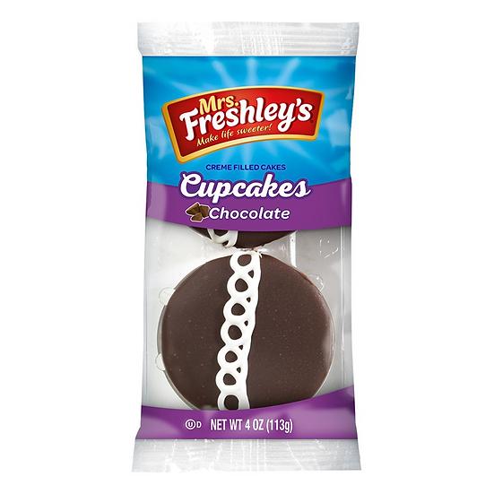 Mrs Freshley's Chocolate Cupcakes (box of 6)