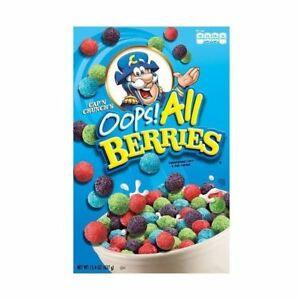 Cap'n Crunch Oop's All Berries