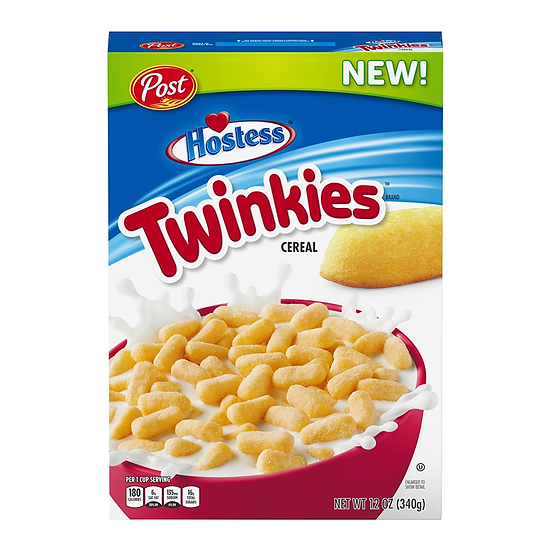 Post Hostess Twinkies Cereal