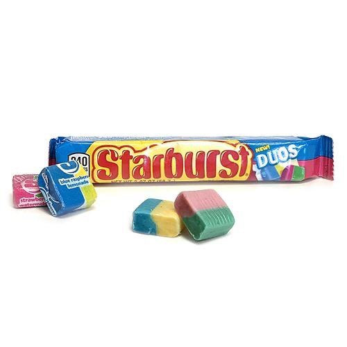 STARBURST DUOS FRUIT CHEWS CANDY