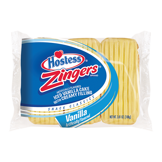 Hostess - Vanilla Zingers - Triple Pack