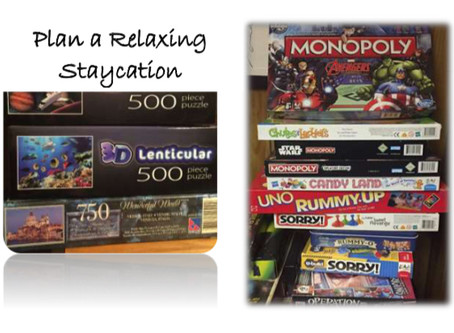 Plan a Relaxing Staycation