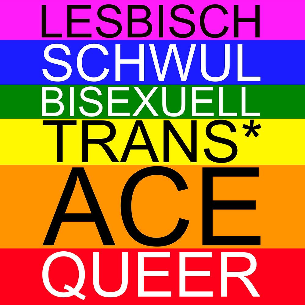 Lesbisch, Schwul, Bisexuell, Trans*, Ace, Queer