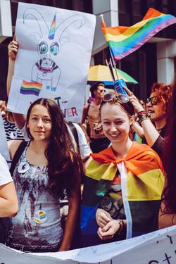 Whatever auf der Pride: Whatever - queere Jugendgruppe Graubünden