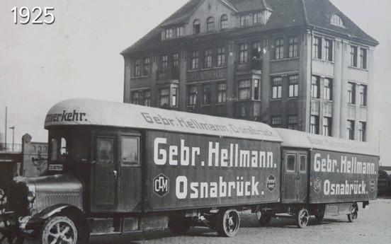הלמן היא אחת החברות הראשונות שהחליפו בהצלחה את צי הסוסים שלהם במשאיות פחם בגרמניה.