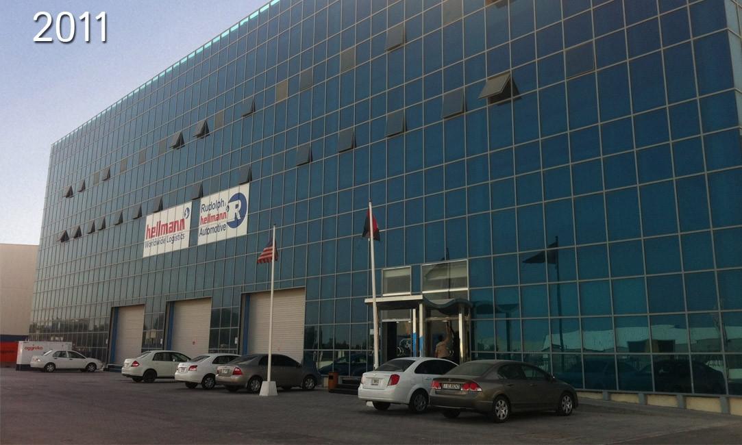 Rudolph & Hellmann Automotive פותחת מרכז הפצה חדש עבור פורד בדובאי.