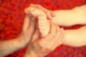 massage bébé, shantala