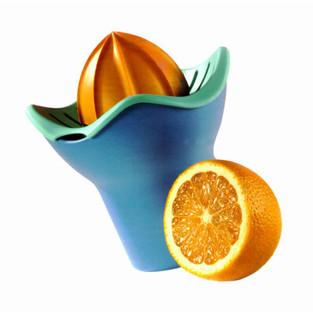 Spremiagrumi Florì per Gio'Style.  Design Marco Maggioni, 1996  Florì citrus juicer for Gio'Style.  Design Marco Maggioni, 1996