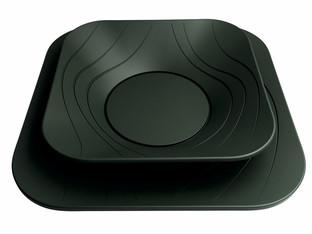 X-Table collezione piatti monouso per DoPla.  Design Marco Maggioni, 2013  X-Table disposable dishes collection for DoPla.  Design Marco Maggioni, 2013