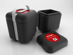 Borse termiche per medicinali, produzione Gio'Style.  Design Marco Maggioni, 2013.  Thermal bags for medicine, Gio'Style production.  Design Marco Maggioni, 2013.