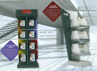 Display concept creato per ADE Germany e prodotto da Domestik.  Design Marco Maggioni, 2010  Display concept created for ADE Germany and produced by Domestik.  Design Marco Maggioni, 2010