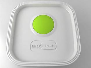 Contenitori ermetici per Gio'Style.  Design Marco Maggioni, 2015  Food container produced by Gio'Style.  Design Marco Maggioni, 2015
