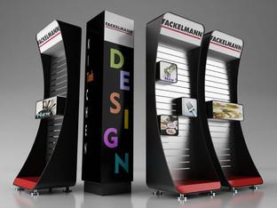 Display concept creato per Fackelmann e prodotto da Domestik.  Design Marco Maggioni, 2012  Display concept created for Fackelmann and produced by Domestik.  Design Marco Maggioni, 2012