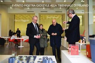 Mostra 50 anni di Gio'Style alla Triennale di MIlano, 2013.  50 years of Gio'Style. Exhibition at the Milan Triennale palace, 2013.