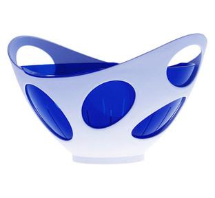 Symbolix colapasta/portafrutta per Gio'Style.  Design Marco Maggioni, 2002  Symbolix colander / fruit bowl for Gio'Style.  Design Marco Maggioni, 2002