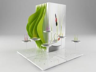 Display concept.  Design Marco Maggioni, 2015
