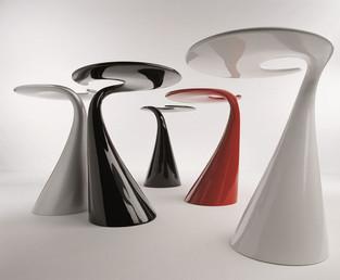 Spyral tavolino per Odue Concept by Oasis.  Design by Marco Maggioni, 2005 Spyral small table for Odue Concept by Oasis.  Design by Marco Maggioni, 2005