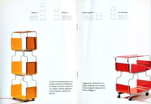 D-Light, sistema di scaffali in metallo prodotto da Domestik.  Design Marco Maggioni, 2007  D-Light, metal shelving system produced by Domestik.  Design Marco Maggioni,