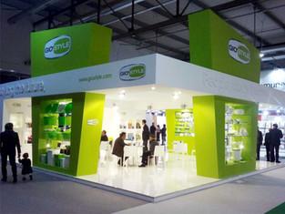 Progetto stand Gio'Style HoMi 2011.  Design  Marco Maggioni    Expo booth Gio'Style HoMi 2011.  Design Marco Maggioni