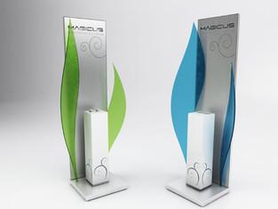 Display Magicus per Cartemani. Vincitore del Premio Superstar 2010.  Design Marco Maggioni  Magicus display for Cartemani. Superstar Award Winner 2010.  Design Marco Maggioni