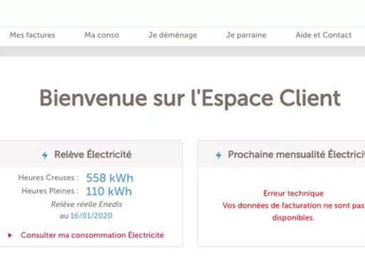 电力 | 如何更改合租室友名字(TOTAL Direct Energie)