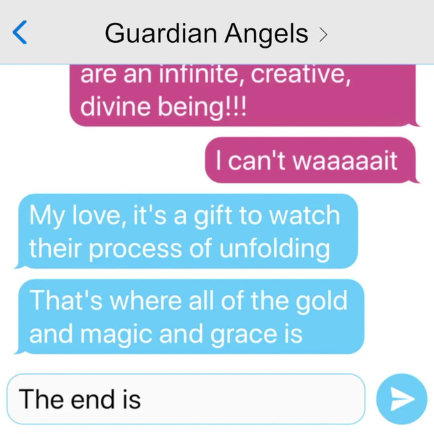 GUARDIAN ANGELS GROUP TEXT