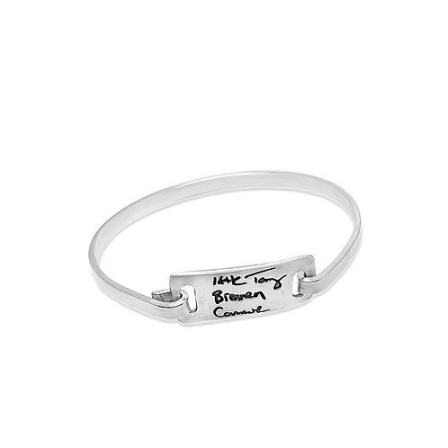 signature bracelet large